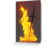 Bonfire ( Dark Souls II ) Greeting Card