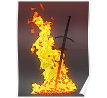 Bonfire ( Dark Souls II ) Poster