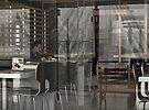 Breakfast alone - homage to Edward Hopper by awefaul
