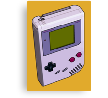 Game Boy 3D Canvas Print