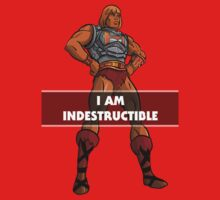 "He-Man ""I am Indestructible"" by psychomaster"