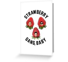 Strawberry Gang: Squad Greeting Card