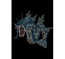 Ornate Gyarados Photographic Print