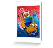 Adventure Time Finn & Jake Greeting Card