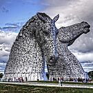 The Kelpies by Tom Gomez