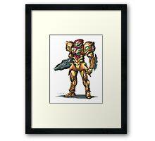 Metroid: Samus M.O.R. Suit Framed Print