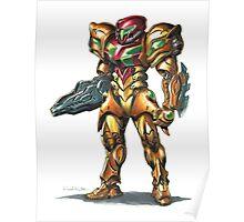 Metroid: Samus M.O.R. Suit Poster