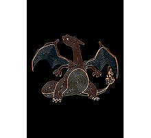 Ornate Charizard Photographic Print