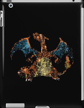 Charizard Splatter by Colossal