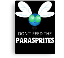Don't Feed The Parasprites Canvas Print