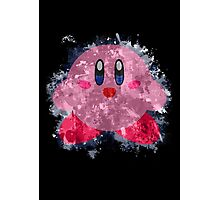 Kirby Splatter Photographic Print