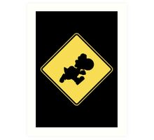 Yoshi Crossing Art Print