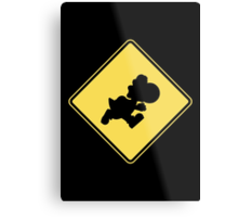 Yoshi Crossing Metal Print