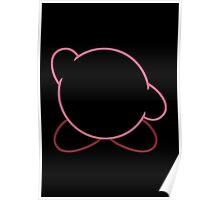 Minimalist Kirby Poster