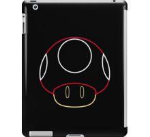 More Minimalist Mario Mushroom iPad Case/Skin