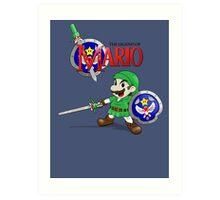 The Legend of Mario Art Print