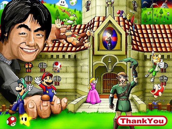 Thank you Miyamoto - Nintendo by worldcollider