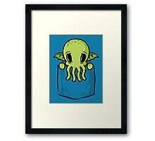 Pocket Cthulhu Framed Print