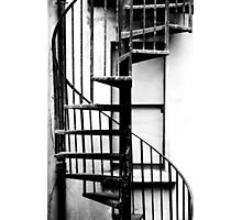 Spiral staircase Photographic Print