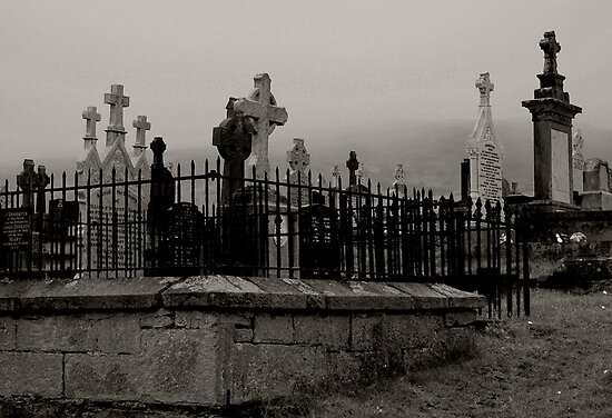 Old graveyard 2 by Agnes McGuinness