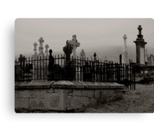 Old graveyard 2 Canvas Print