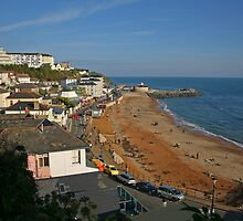 Ventnor Beach by RedHillDigital
