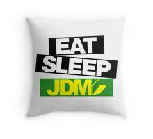Eat Sleep JDM wakaba (5) Throw Pillow
