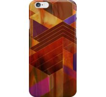 Wrightian Reflections (Square Version) - By John Robert Beck iPhone Case/Skin