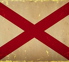 Alabama State Flag VINTAGE by USAswagg