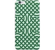 Celtic Knotwork on Green iPhone Case/Skin