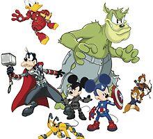 Earth's Mightiest Heroes by Jvillustrations