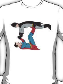 DC SUPER HEROES ( BATMAN VS SUPERMAN) T-Shirt