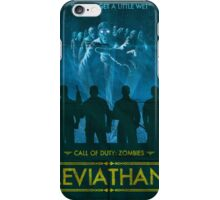 Call of Duty: Zombies Poster - Leviathan iPhone Case/Skin