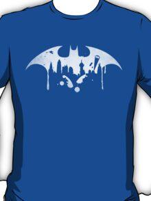Gotham City (Batman) (White) T-Shirt