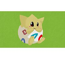 Togepi Paint Photographic Print