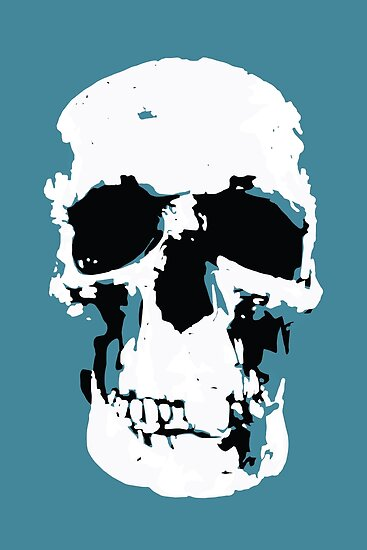 Sherlock Skull Wall Hanging by Mark Walker