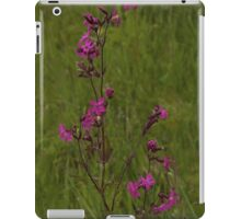 Red Campion in Burntollet Woods iPad Case/Skin