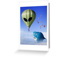 Mass Ascension 3 Greeting Card