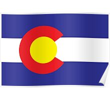 Colorado State Flag  Poster