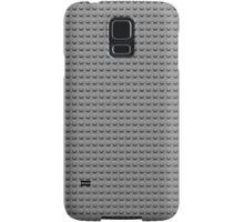 Building Block Brick Texture - Gray Samsung Galaxy Case/Skin