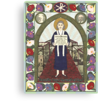 Dorothy Day Icon Canvas Print