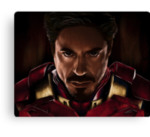 I am Iron Man Canvas Print
