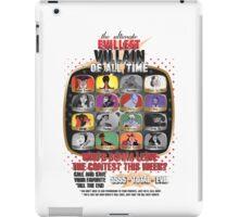 The Evillest Villain iPad Case/Skin