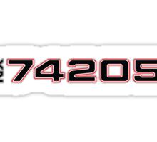 Registry 74205 Sticker