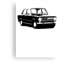 Fiat 124 Saloon Canvas Print