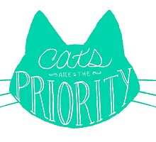 Get Your Priorities Straight - Teal by soupdusilence