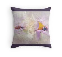 An Angels Protection Throw Pillow