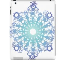 Blue Flake V iPad Case/Skin