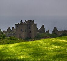 Dunnottar Castle by Marylou Badeaux