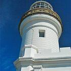 Byron Bay Lighthouse close up by Penny Smith